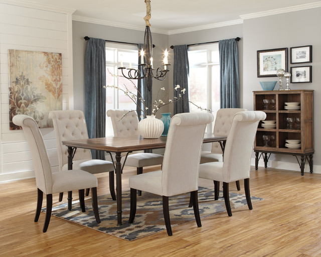 Hot Vintage Casual Dining Set Eclectic Dining Sets