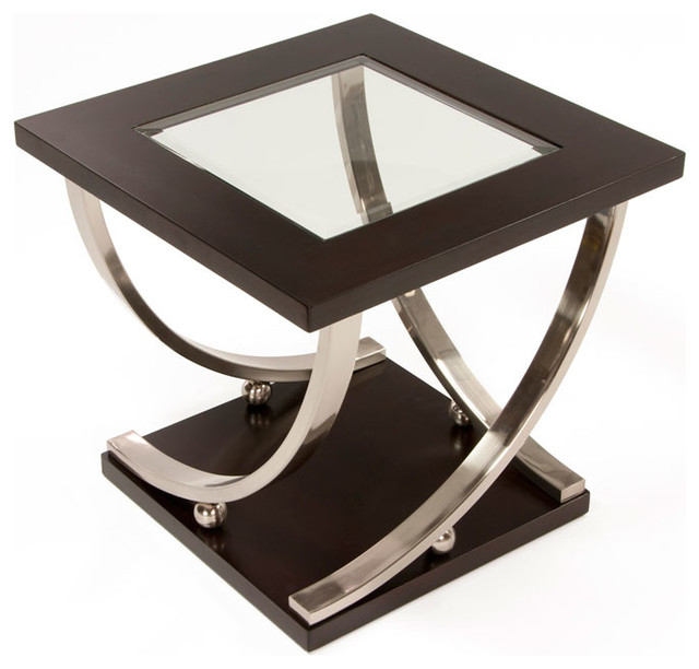 Jerome S Square Coffee Table: Melrose End Table
