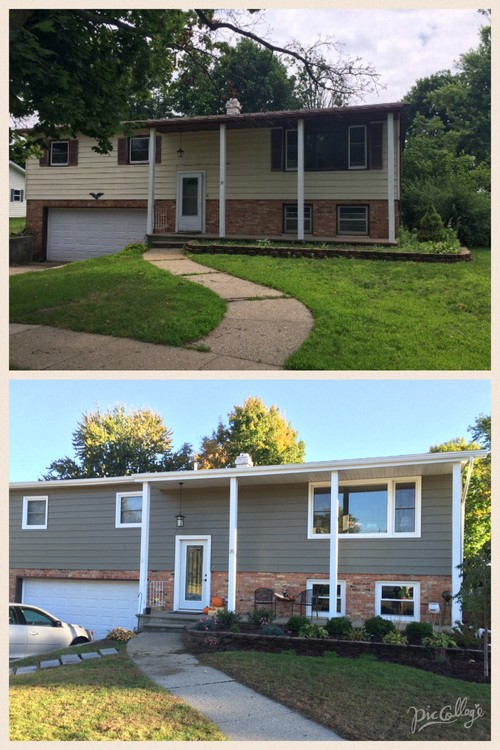 Before And After 1964 Split Level