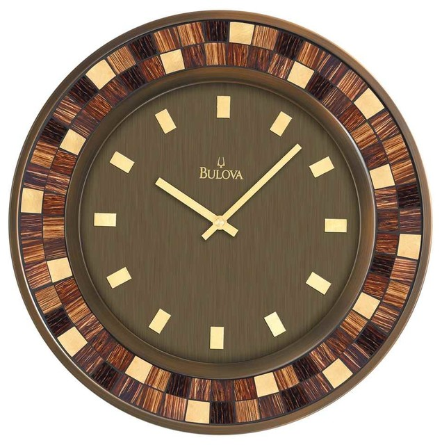 Deco large wall clock contemporary wall clocks for Large wall clocks modern