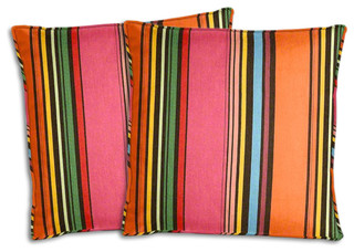 Sunbrella Icon Pop Pillow Set Southwestern Outdoor Cushions And Pillows By Cushion Source