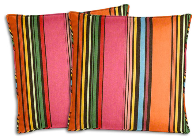 Sunbrella Icon Pop Pillow Set Southwestern Outdoor Cushions And Pillows