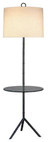 Meurice tray floor lamp modern floor lamps by lightology for Floor lamp with tray uk