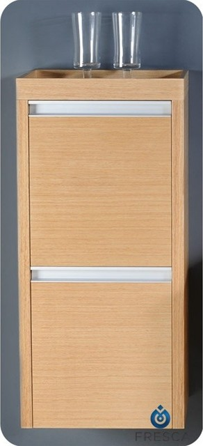 oak bathroom linen side cabinet fst3030lo modern bathroom cabinets and