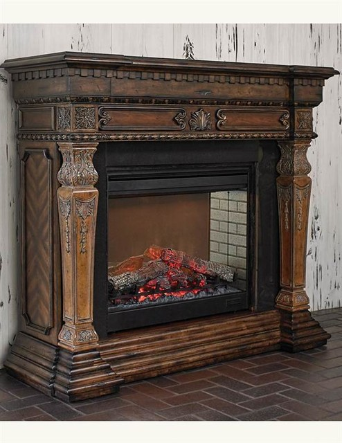 St Andrew S Electric Fireplace Victorian Indoor