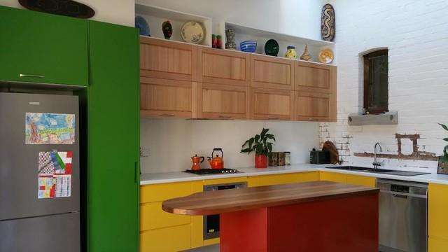Colourful kitchen for Kitchen design jobs newcastle