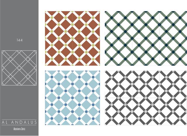 carreaux de ciment collection al andalus m diterran en carrelage sol et mur autres. Black Bedroom Furniture Sets. Home Design Ideas