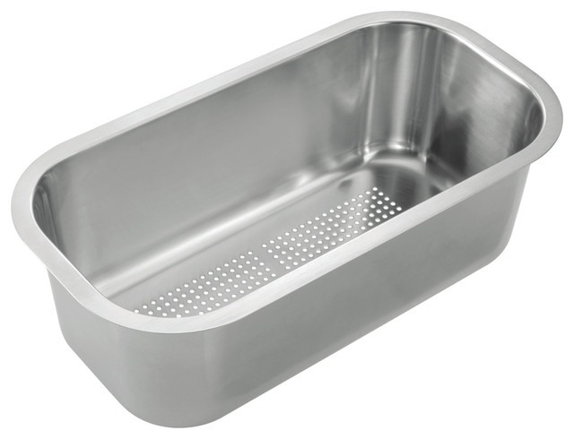 Stainless Steel Sink Inserts : Stainless Steel Colander Insert - Modern - Kitchen Sink Accessories ...