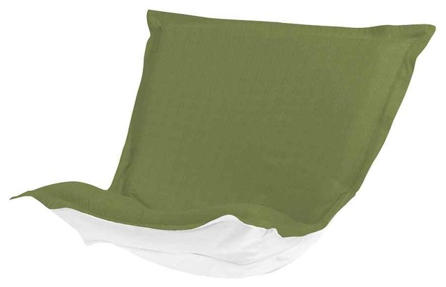Puff Chair Cushion In Yellow Green Contemporary Outdoor Cushions And Pill