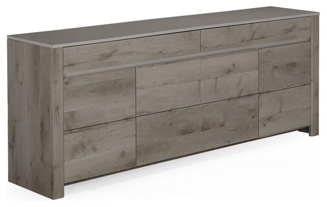 Sha buffet de salon 4 portes et 4 tiroirs modern for Buffet salon alinea