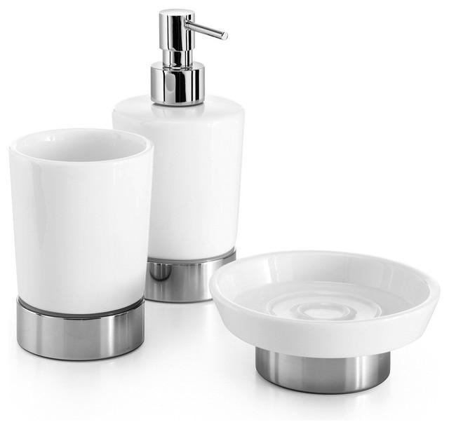 Ws Bath Collections Saon Accessory Set Contemporary