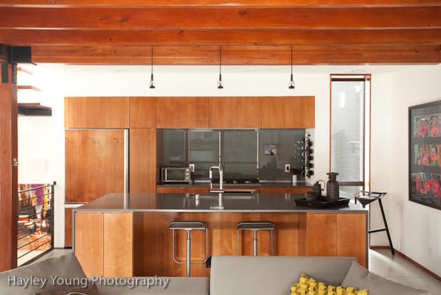 Capital Hill Bachelor Pad Contemporary Kitchen