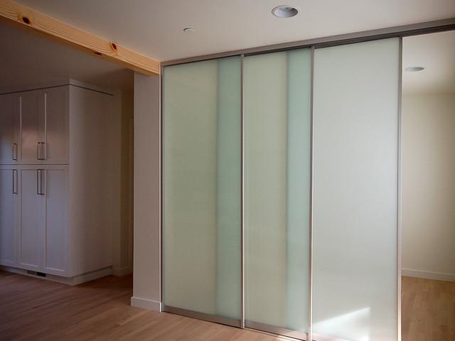 Sliding Interior Glass Door System Contemporary