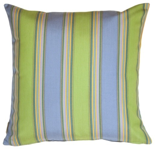 Pillow Decor Sunbrella Bravada Limelite Outdoor Pillow