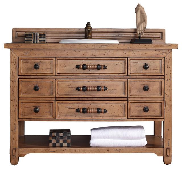 Malibu 48 Single Vanity Cabinet Rustic Bathroom Vanities And Sink C