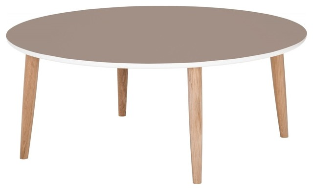 Couchtisch Juri III EicheTaupe  Modern  Coffee Tables