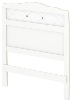 Glitter Kids Headboard, White, Twin - Contemporary - Kids Beds - by Target