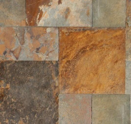 12x24 Sawn Edge California Gold Slate Paver Tile