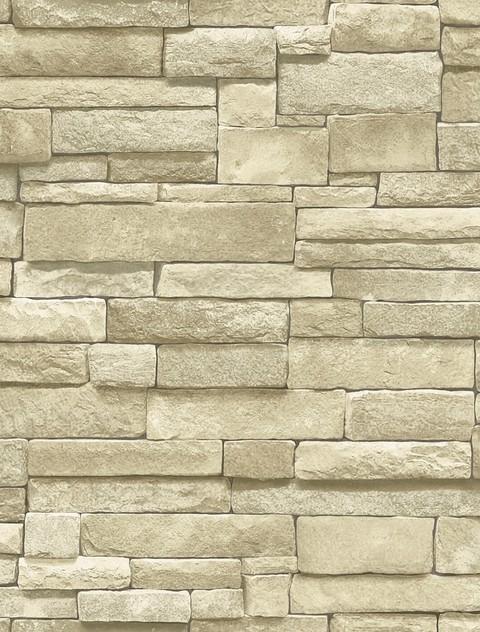 Neutral Brick Wallpaper Modern Wallpaper houston