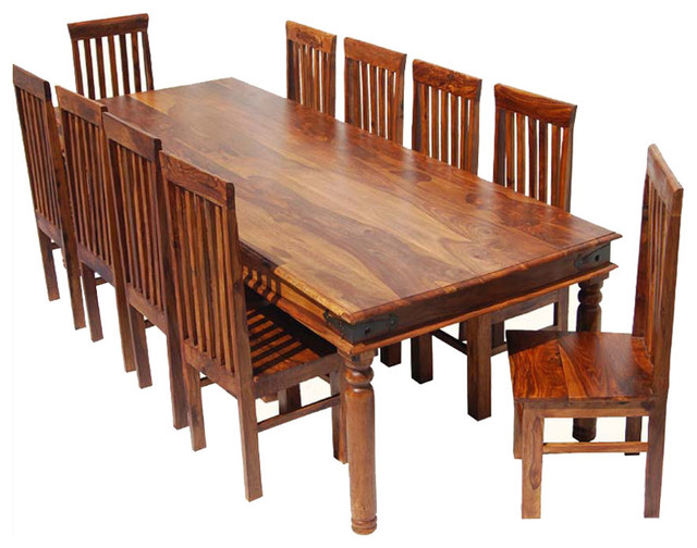 dining room table chair set for 10 people rustic dining table sets