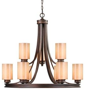 Nine Light Chandelier Transitional Chandeliers By We Got Lites