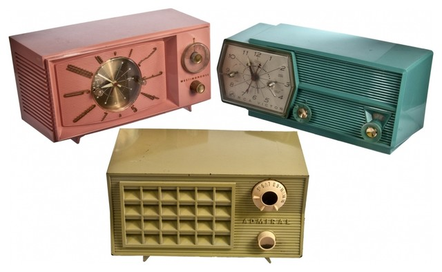 Vintage Radios - Eclectic - Home Decor - new york - by Omero
