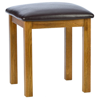 natural rustic oak dressing table stool montagne banc et tabouret pour coiffeuse north. Black Bedroom Furniture Sets. Home Design Ideas