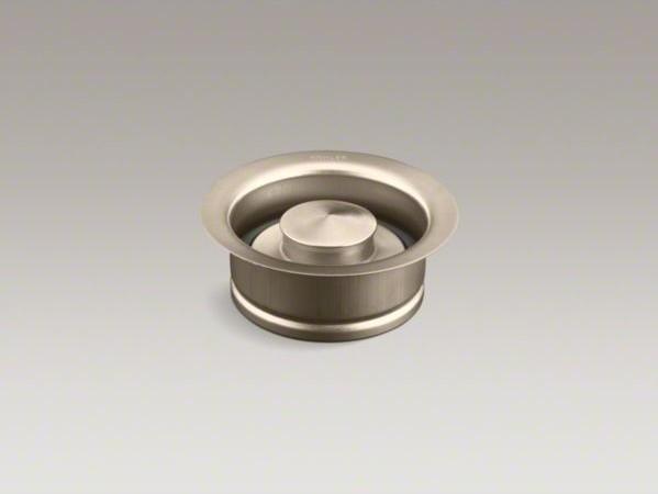 Kohler Disposal Flange With Stopper Contemporary Bathroom Sinks By Kohler