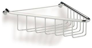StilHaus 571-08 Wire Corner Shower Basket - Modern - Shower Caddies ...