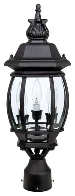 Capital lighting french country traditional outdoor post for French country exterior lighting