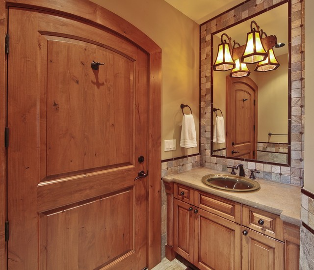 Issaquah oasis cabana bathroom traditional bathroom for Cabana bathroom ideas