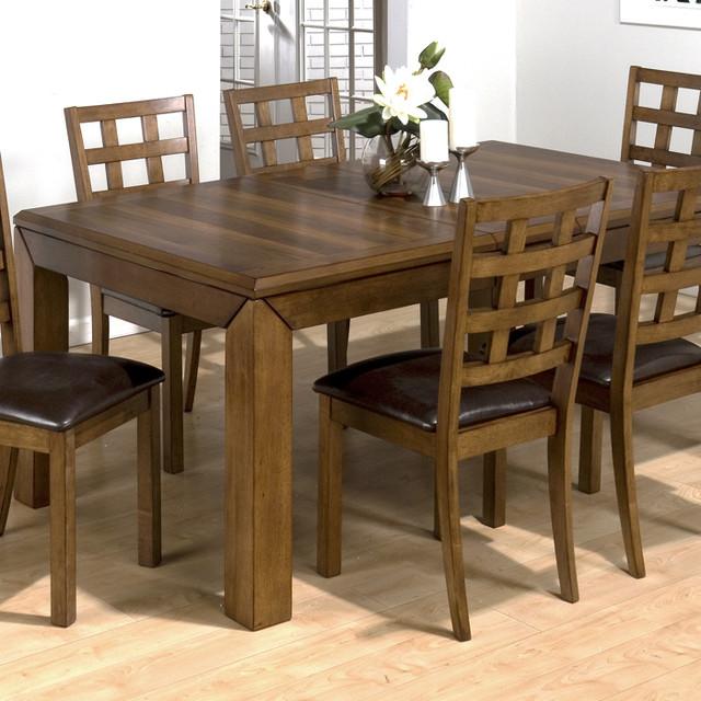 jofran 737 wenatchee falls walnut rectangular dining table