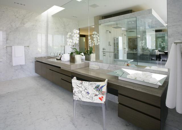 Honed Carrara Marble Floor Haisa Marble Countertop Modern Wall And Floor Tile Los Angeles