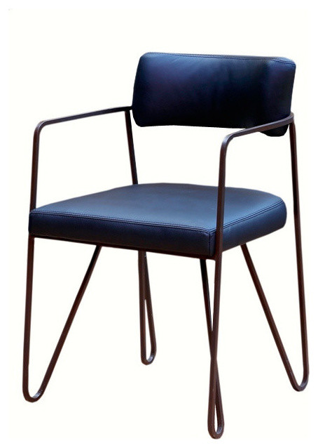 Wire dining chair contemporary dining chairs by paulina carcach