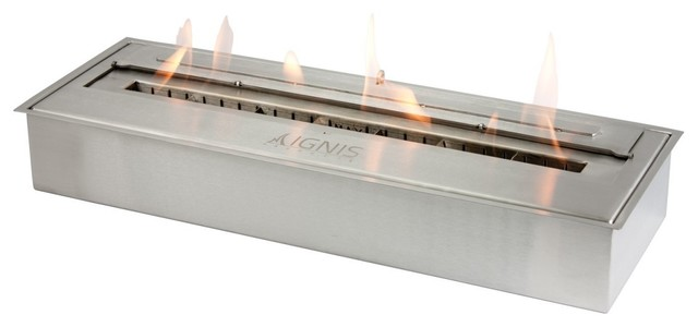 eb2400 bio ethanol insert contemporary fireplace