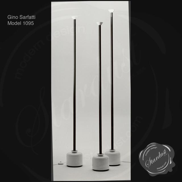 Gino sarfatti mod 1095 floor lamp by flos lighting for Gino sarfatti flos