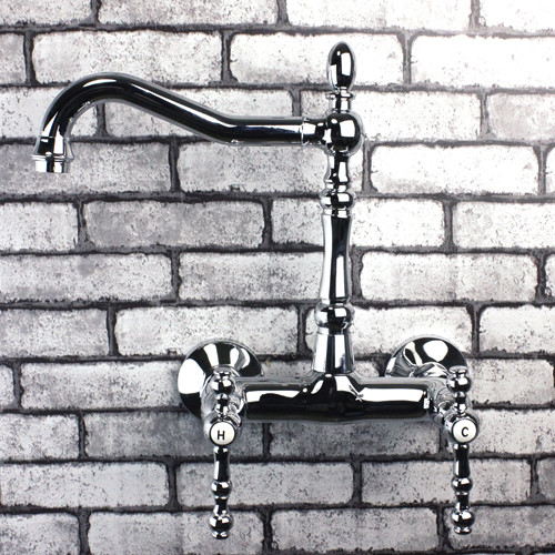 wall mounted kitchen sink faucets contemporary kitchen faucets wall mounted kitchen sink faucets: kitchen faucets wall mount