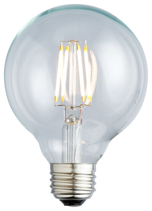 Nostalgic G25 Filament LED Lightbulb, 2400K, 3.5w/40w