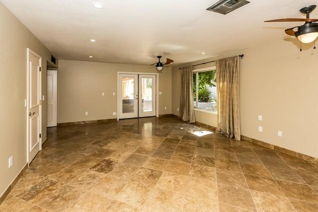 Noche Master Bedroom Tile Flooring Rustic Bedroom Phoenix By Authentic Durango Stone