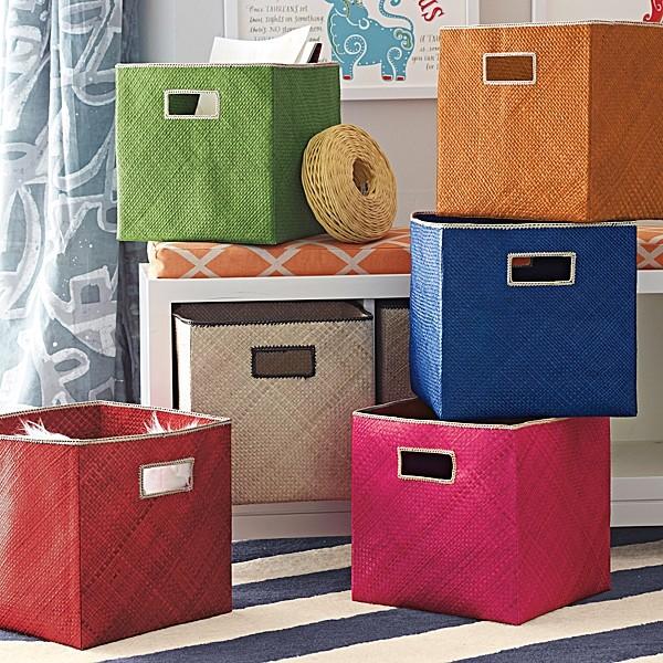 funky storage boxes