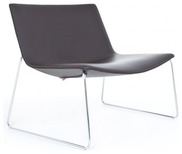 Catifa 80 2010 lounge chair mit kufe modern armchairs for 80s lounge chair