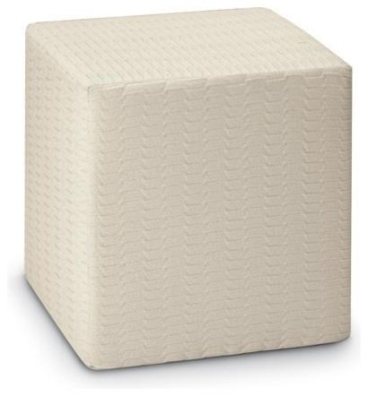 missoni home oden neutral cube pouf modern floor