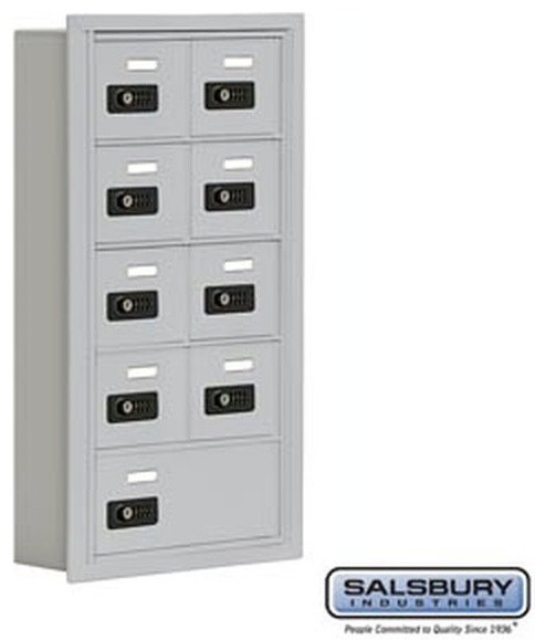 Cell Phone Storage Locker - 5 Door High Unit (5 Inch Deep Compartments) - Modern - Small Kitchen ...