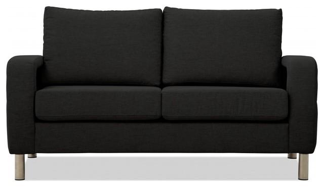 2 sitzer sofa omnia 222 i dunkelgrau moderno sof s. Black Bedroom Furniture Sets. Home Design Ideas