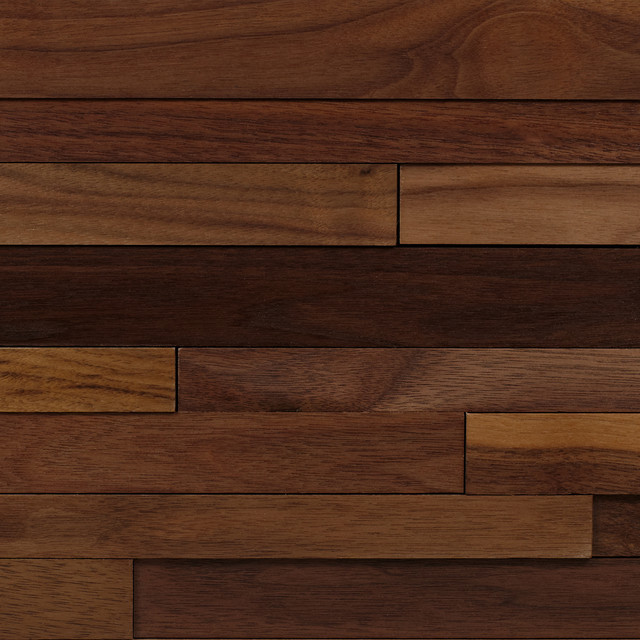 Walnut wood planking contemporary chicago by the for Panneaux bois exterieur castorama