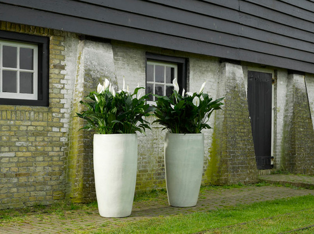 outdoor glazed ceramic pots contemporary other metro