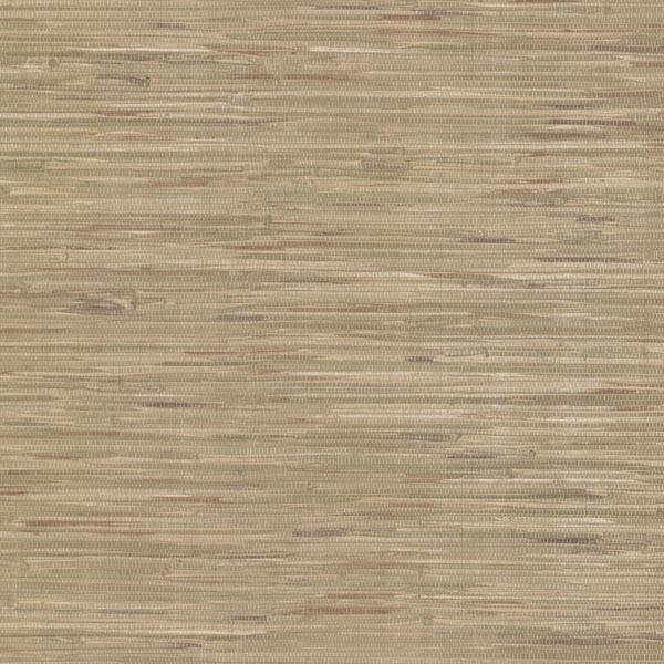 Vinyl Grasscloth Wallpaper: Liu Green Vinyl Grasscloth Wallpaper Swatch
