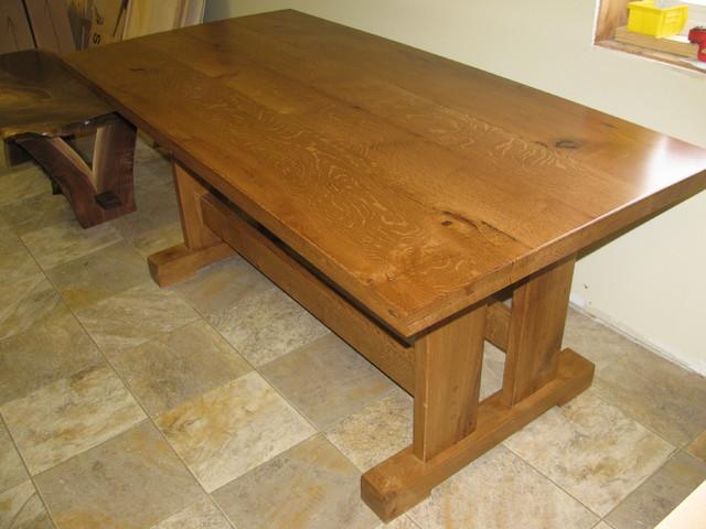 Quarter Sawn White Oak Table