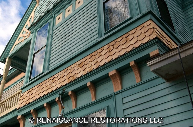 Custom Cedar Shingle & Clapboarding Work