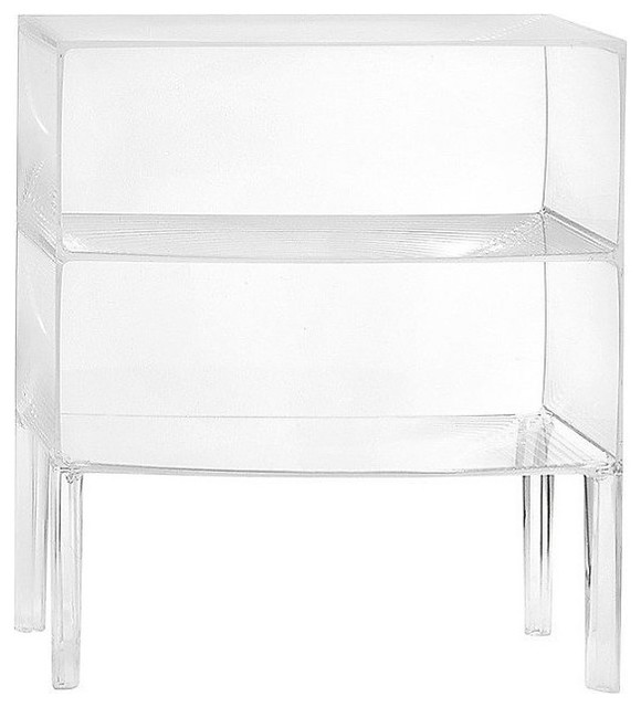 Ghost Buster Cabinet By Kartell Contemporary Nightstands And Bedside Tables Other Metro